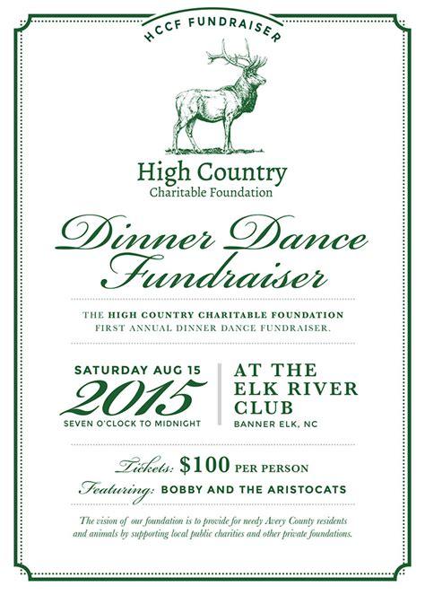 Fundraising Dinner Letter Of Invitation Dinner Fundraiser High Country Charitable Foundation
