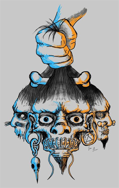 shrunken head tattoo shrunken shrunken heads by thefranology on