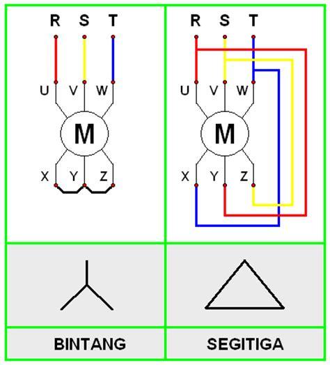 wiring diagram delta bintang segitiga
