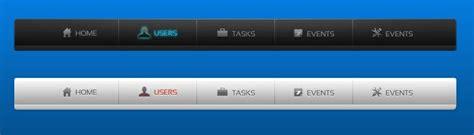 html layout navigation bar 45 great free navigation menu psds