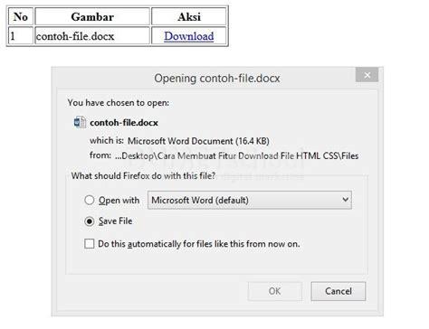 cara membuat website html dan css cara membuat fitur download file html css kursus website