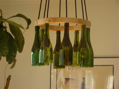 Bottle Chandelier Wine Bottle Chandelier By Glow828 On Etsy