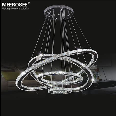 Ring Of 3 Lights by Meerosee Led Chandelier Light Ring Pendant