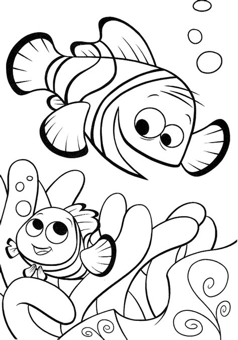 nemo coloring pages nemo coloring book coloring