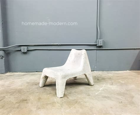 diy plastic chair modern ep100 diy concrete chair