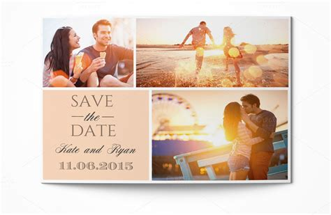 svae the date card templates save the date card invitation templates on creative market