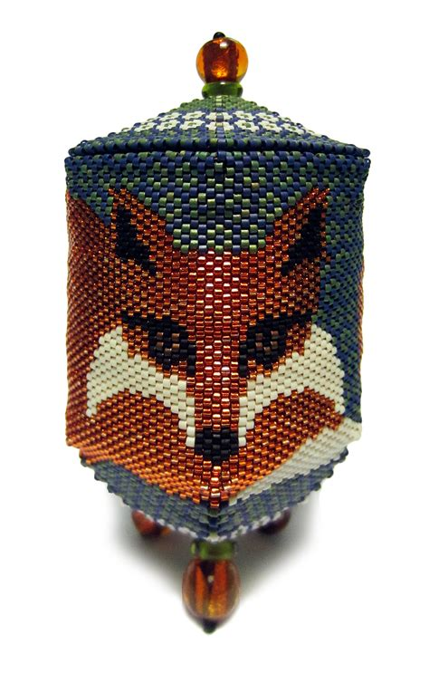 bead boxes bead boxes on box patterns peyote