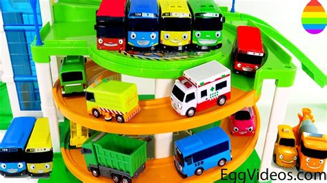 Tayo Parking Tayo tayo the friends parking garage learn colors
