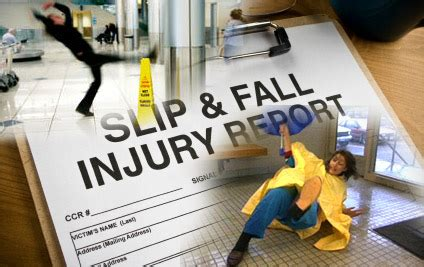 Slip and Fall Injuries   The Gaiennie Law Firm