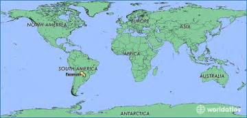 where is a m located map where is paraguay where is paraguay located in the