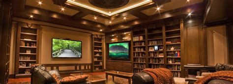 Beautiful House Design Hd Images Upscale Library Converts To Stunning Home Theater At The