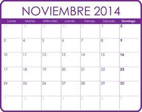 Calendario Noviembre 2014 Calendario Noviembre 2014 Calendarios Para Imprimir