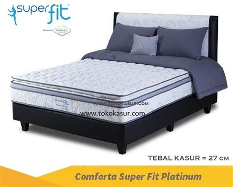 Comforta Fit Platinum Plush bed comforta comforta springbed harga teengaer