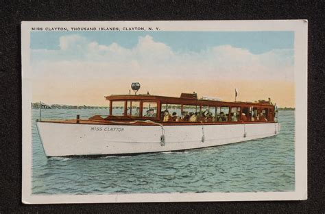 boats for sale jefferson county ny 1920s miss clayton yacht boat haas consaul thousand