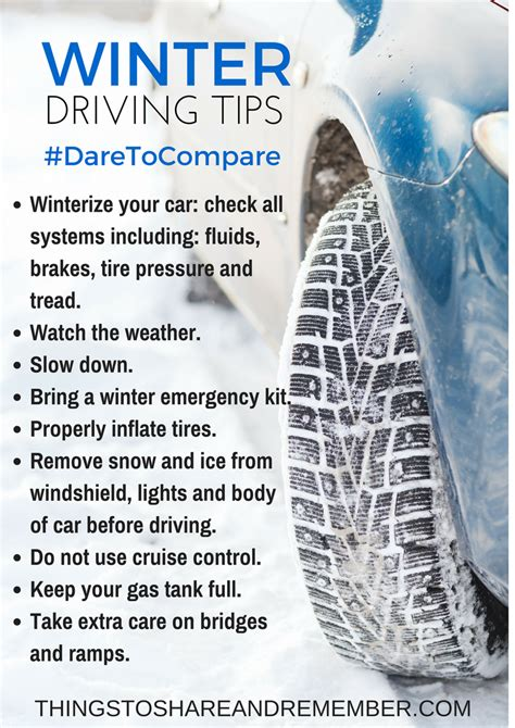 8 Tips On Driving Safe In Snow by Winter Driving Tips And Tire Event At Sam S Club
