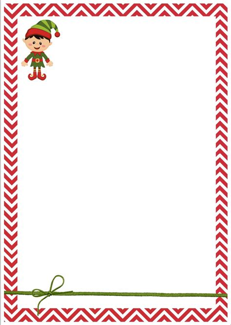 printable elf on the shelf stationary free christmas letterhead search results calendar 2015