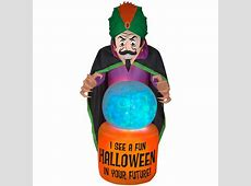 Halloween Inflatables - Outdoor Halloween Decorations ... W Home Depot Order Status