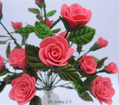 Handmade Roses - cards crafts projects handmade foam flower