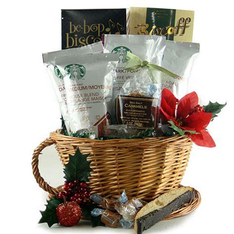 starbucks christmas starbucks gift basket design it