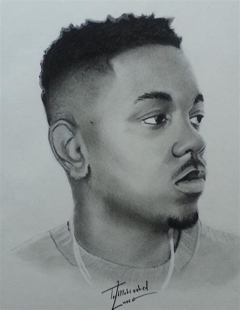 coloring book kendrick lamar kendrick lamar charcoal drawing by lance freeman