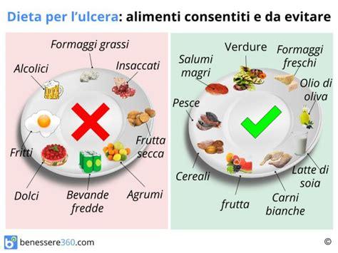 diverticolite alimentazione corretta dieta per ulcera gastrica cosa mangiare cibi da evitare