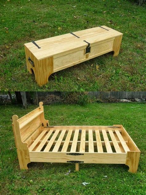 Futon In A Box by Pallet Beds Ideas For Frames And Bases Founterior