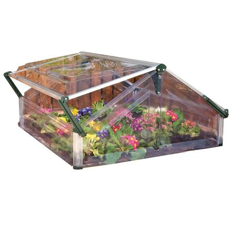 Small Greenhouses Home Depot Palram Cold Frame 3 Ft 6 In X 3 Ft 5 In Mini