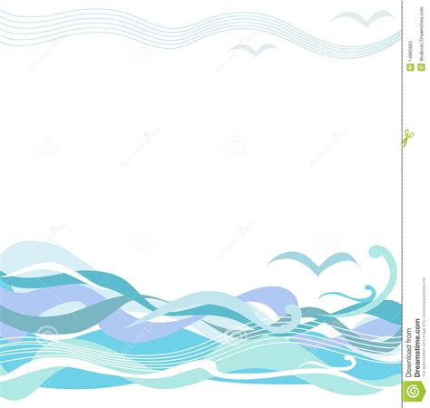 clipart mare sea waves stock photos image 14865663