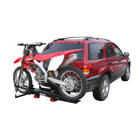 Dirtbike Rack by Snowbear Limited 174 Deluxe Dirt Bike Carrier With Brake Light Kit 115277 Roof Racks Carriers