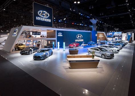 design show los angeles hyundai at the 2015 los angeles auto show on behance