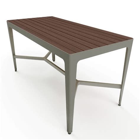 Plastic Bar Table Mixx 34 Quot X 72 Quot Recycled Plastic Bar Height Table Picnic Tables Upbeat