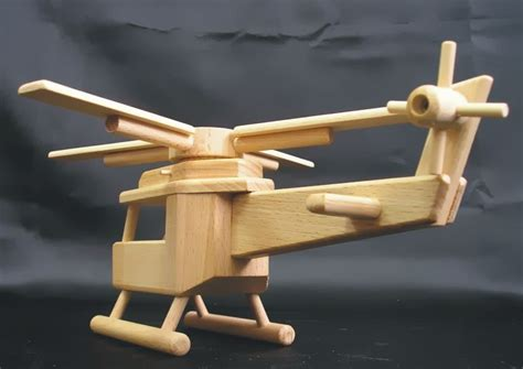 civil wooden helicopter kinder toy wooden natural toys