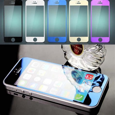 colorful tempered glass explosion proof  iphone