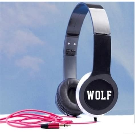 Headphone Exo Headphone On Ear Exo Wolf