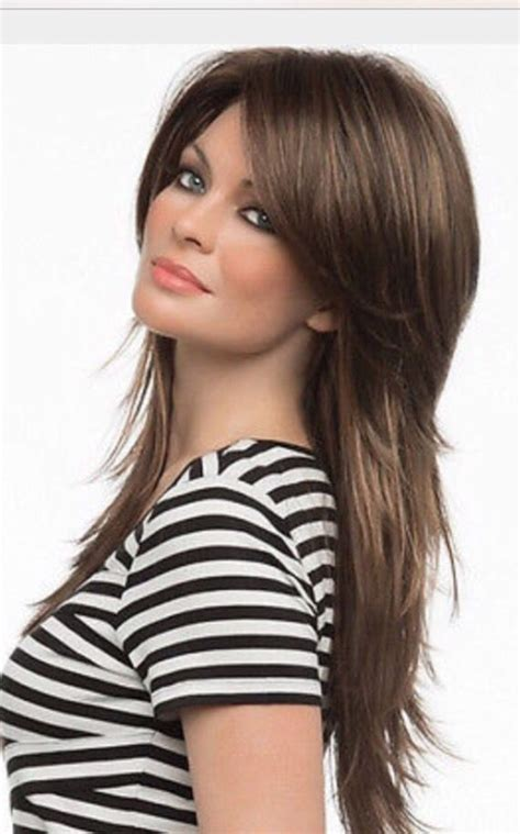 shaggy haircut for long straight hair best 25 long shag haircut ideas on pinterest