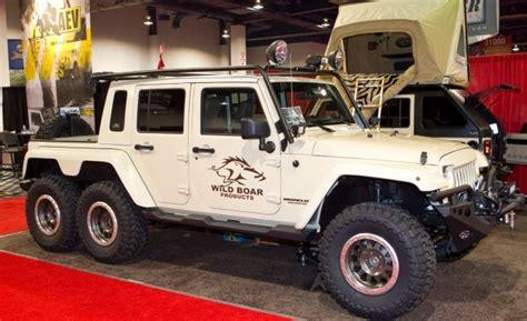 6 Wheel Jeep Six Wheel Jeep Concept Custom Cars Motorcycles