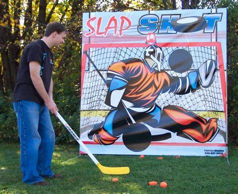 themes for hockey games hockey slap shot carnivals for kids at heart