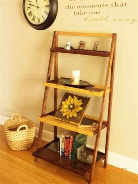 pin by ana white on kitchen tutorials pinterest pretty ladder shelf do it yourself home projects from