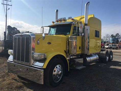 Peterbilt Sleeper 2008 peterbilt 389 sleeper truck for sale montgomery al