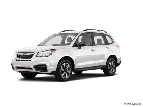 subaru forester 2018 2018 subaru forester kelley blue book