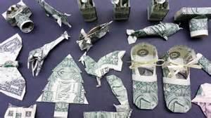 Origami Boot Dollar Bill - money origami various designs dollar bill v 5