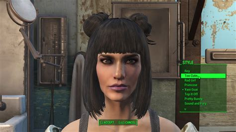 fallout haircut kat s new hairstyles fallout 4 mod cheat fo4
