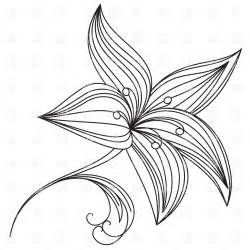 Flowers Drawings Outlines by Eletragesi Easy Flower Drawing Outline Images