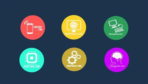 membuat logo keren  android  olshop bisnis