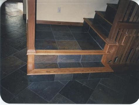 oak steps and risers     Custom Wood Floors, Inc.   Red