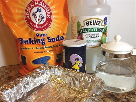 clean sink with baking soda and vinegar homemade jewelry cleaners for precious metals and stones