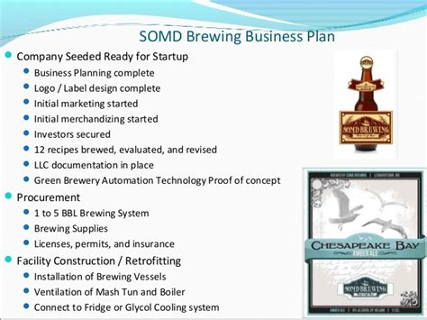 brewery business plan template free microbrewery business plan