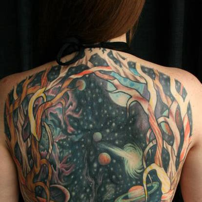 space themed tattoo out of this world 33 tattoos from another planet urbanist