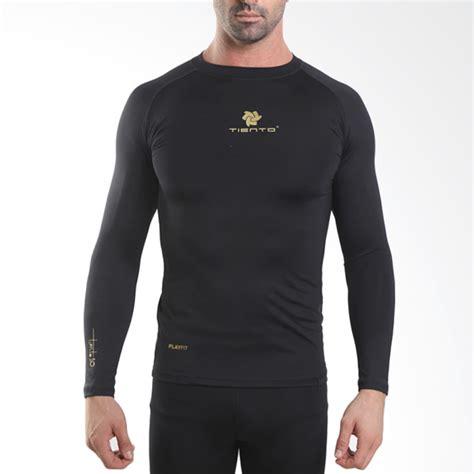 Baju Renan tiento baselayer manset compression baju olahraga