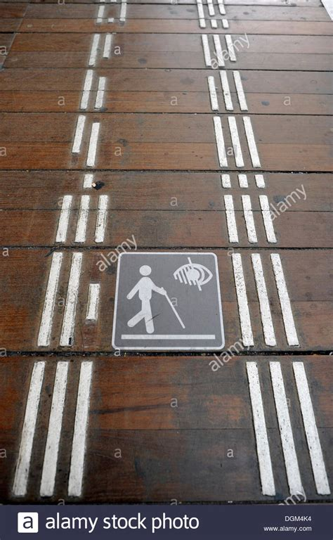 floor ls for visually impaired physically impaired stock photos physically impaired